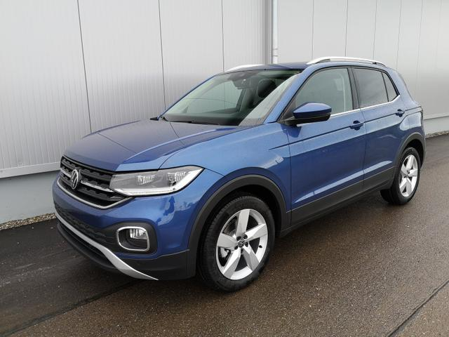 Kurzfristig verfügbares Fahrzeug, wird im Auftrag des Bestellers importiert / beschafft Volkswagen T-Cross - 1,0TSi Style 6Gang ACC LED App Sitzh.