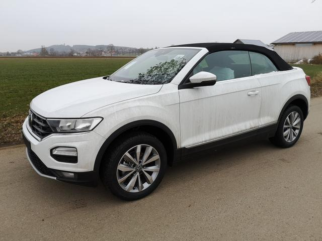 Kurzfristig verfügbares Fahrzeug, wird im Auftrag des Bestellers importiert / beschafft Volkswagen T-Roc Cabriolet - Cabrio 1.5TSi Style DSG ACC PDC App Sitzh. Windschott