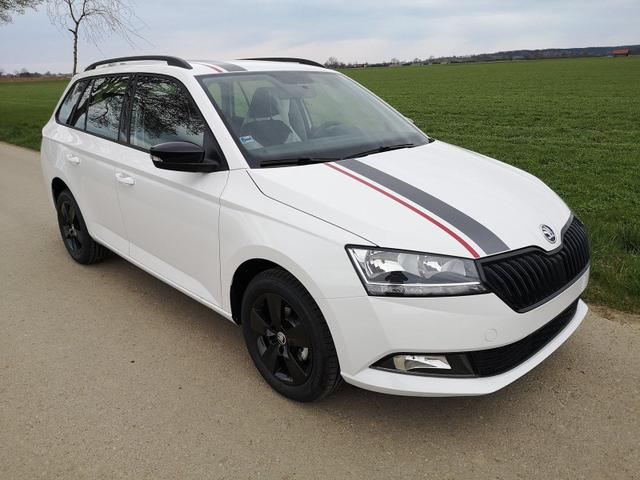 Kurzfristig verfügbares Fahrzeug, wird im Auftrag des Bestellers importiert / beschafft Skoda Fabia Combi - Kombi 1.0TSi Edition PDC GRA APP Sitzh. MFLL