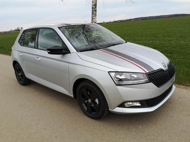 Kurzfristig verfügbares Fahrzeug, wird im Auftrag des Bestellers importiert / beschafft Skoda Fabia - 1.0TSi Edition DSG PDC GRA APP Sitzh. MFLL