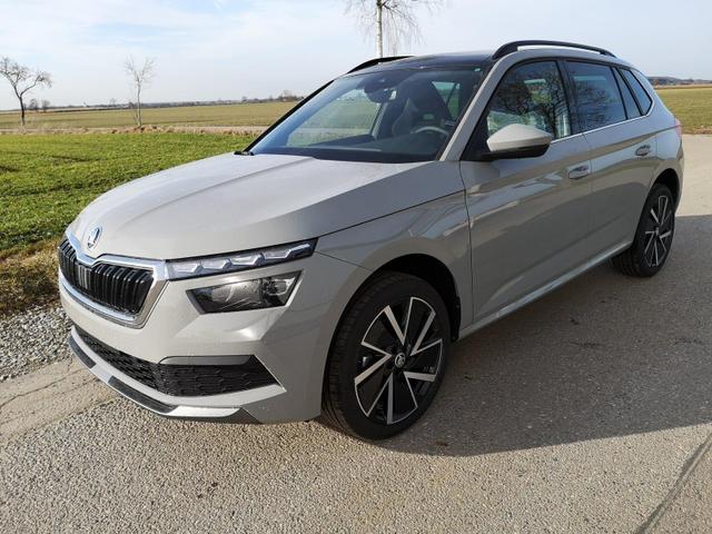 Kurzfristig verfügbares Fahrzeug, wird im Auftrag des Bestellers importiert / beschafft Skoda Kamiq - 1.0TSi Sport DSG Pano, LED, APP, 18?