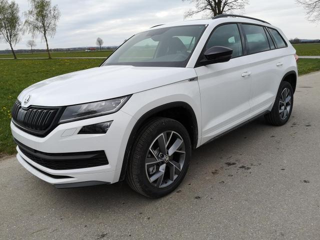 Kurzfristig verfügbares Fahrzeug, wird im Auftrag des Bestellers importiert / beschafft Skoda Kodiaq - 2.0 TDI Sportline DSG 4x4 7 Sitze Pano Kam