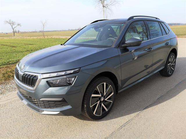 Kurzfristig verfügbares Fahrzeug, wird im Auftrag des Bestellers importiert / beschafft Skoda Kamiq - 1.0TSi Sport 6Gang Pano, LED, APP, 18?