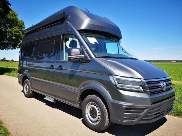 Kurzfristig verfügbares Fahrzeug, wird im Auftrag des Bestellers importiert / beschafft Volkswagen Grand California - 600 3,5 to 2.0TDi Hochbett LED Clima