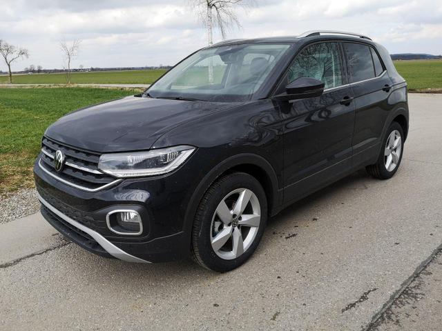 Kurzfristig verfügbares Fahrzeug, wird im Auftrag des Bestellers importiert / beschafft Volkswagen T-Cross - 1,0TSi Style DSG ACC LED App Sitzh.