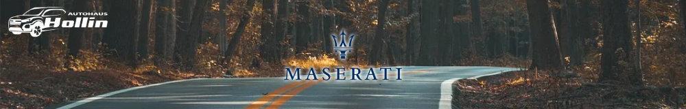 Maserati Reimport EU-Neuwagen in Saalbach kaufen