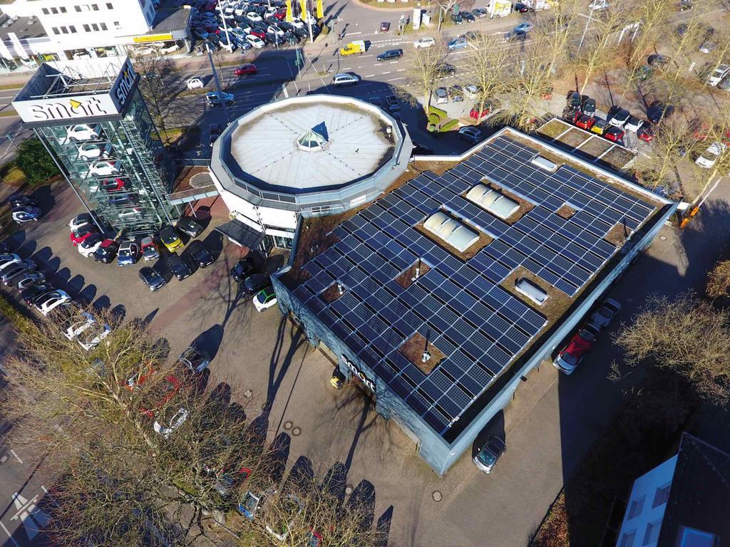 Errichtung einer Photovoltaikanlage
