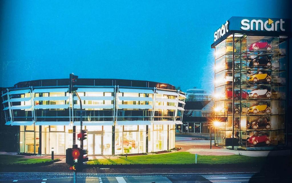 Offizielle Eröffnung des smart Centers Saarbrücken mit dreitägiger Feier