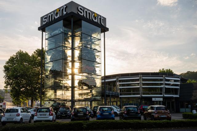 SMP AUTOMOBILHANDEL AG - SMART IM SAARLAND