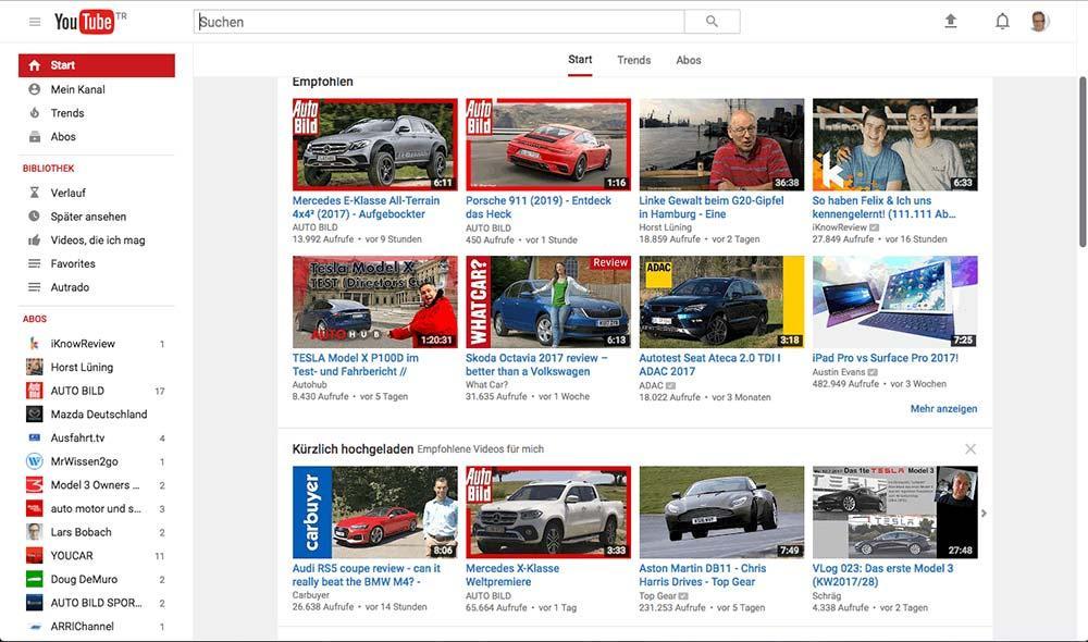 youtube autohandel neue medien video prsentation verkaufen - Youtube Video Bewerben