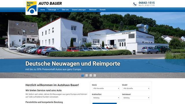 Autohaus Bauer, Deutsche Neuwagen und Reimporte  -  Autrado Kunde