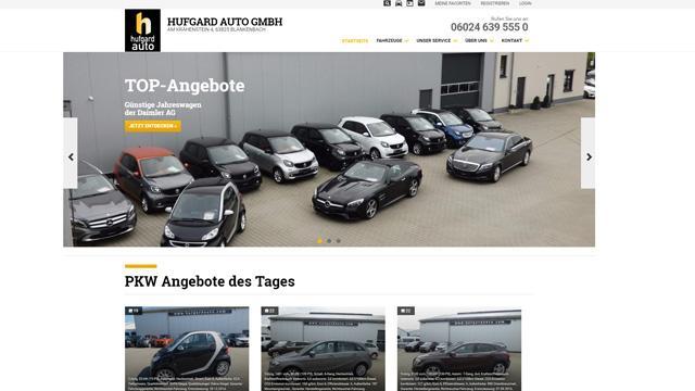 Hufgard Auto GmbH - Jahreswagen der Daimler AG