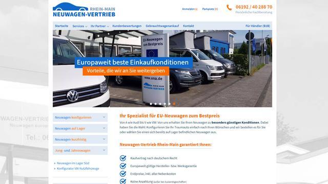 Mehrmarkenhandel: Neuwagenvertrieb Rhein-Main