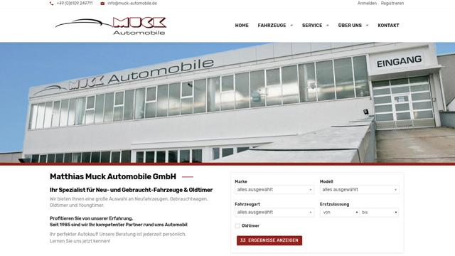 Muck Automobile GmbH - Oldtimer