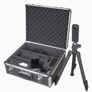 mobile+360°-App Hardware-Set im praktischen Koffer