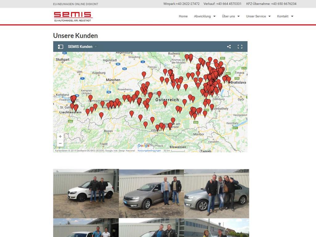 SEMIS-Autoimport, Österreich