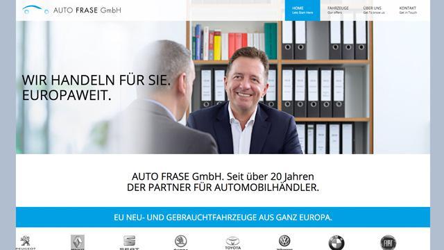 Auto Frase - B2B-Autohandelfür EU-Fahrzeuge