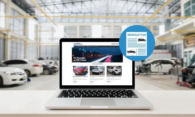 Newsletter-Funktion für Autohäuser