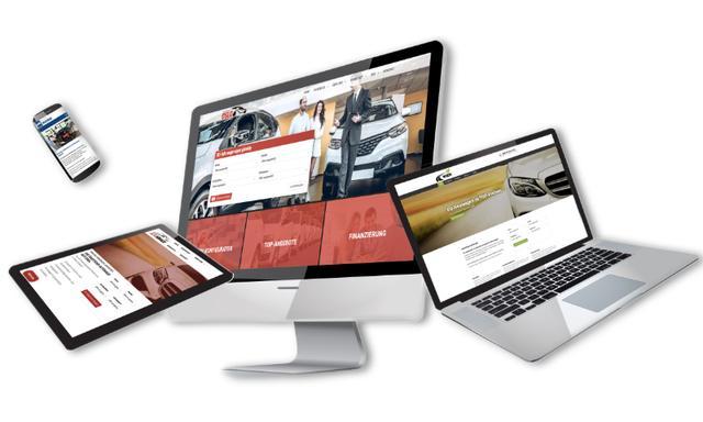 Online-Präsenz: Webdesign für Autohändler