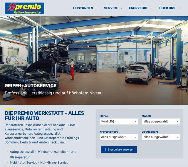 Website für Kfz-Werkstatt