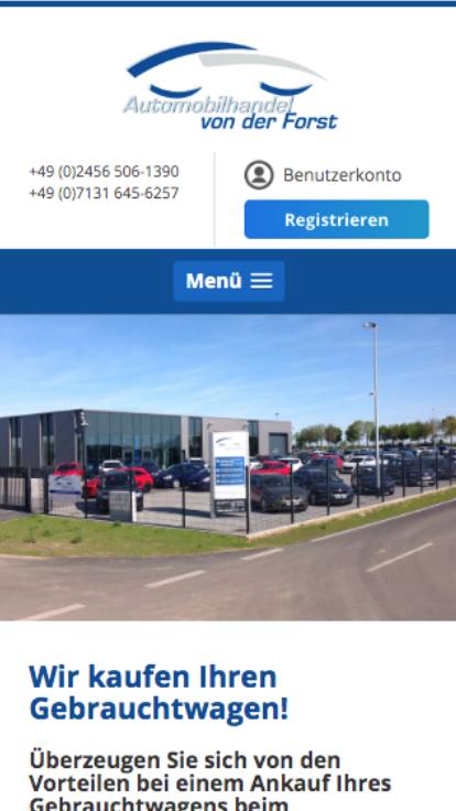 Automobilhandel von der Forst GmbH, Selfkant-Tüddern