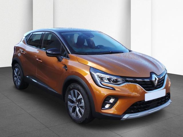 Renault Captur - Blue dci 115 Intens Orange-Signature-Paket