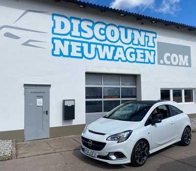 Ausliefferung  Opel Corsa
