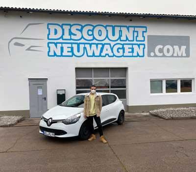 Auslieferung Renault-Clio-V