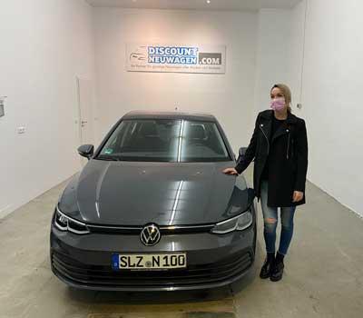 Auslieferung VW Golf 8
