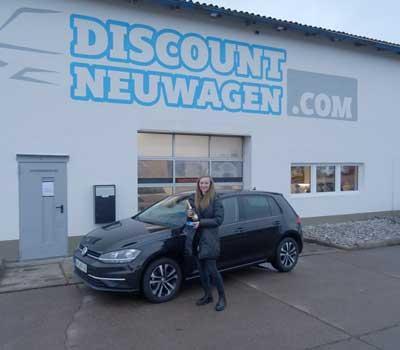 Auslieferung VW Golf 7 TDI