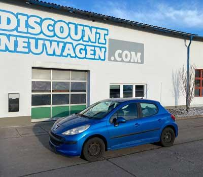 Auslieferung Peugeot 207