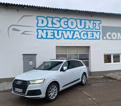 Auslieferung Audi Q 7
