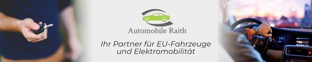 Ihr Partner für günstige EU-Fahrzeuge und Elektromobilität - Automobile Raith