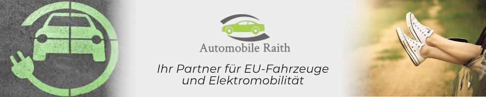 Preiswerte EU-Fahrzeuge und E-Autos bei Automobile Raith