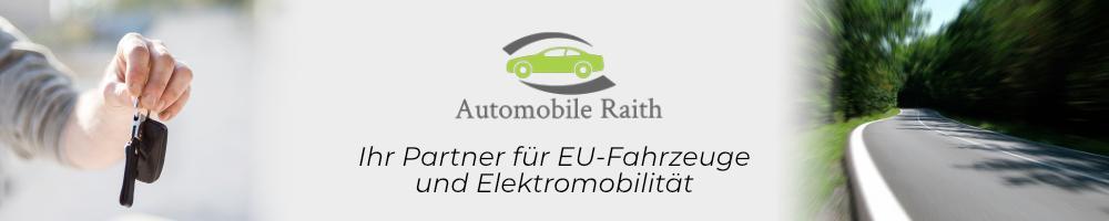 Günstige EU-Neuwagen und Elektrofahrzeuge bei Automobile Raith