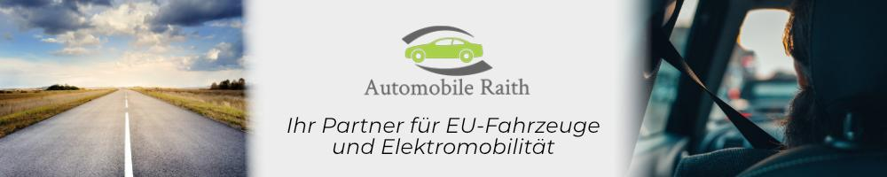 EU-Neuwagen Angebote bei Automobile Raith
