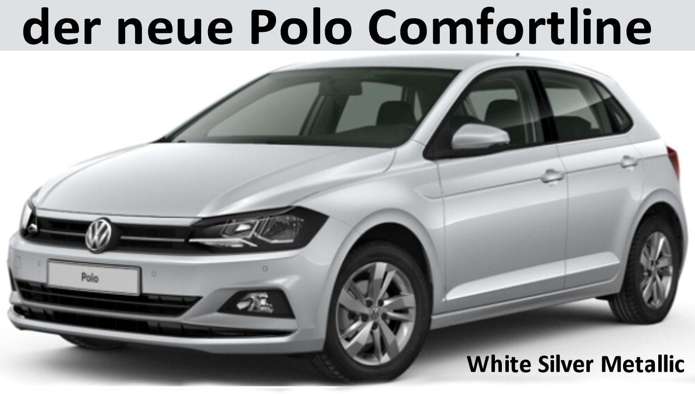 volkswagen polo comfortline neuer mit automatic alus
