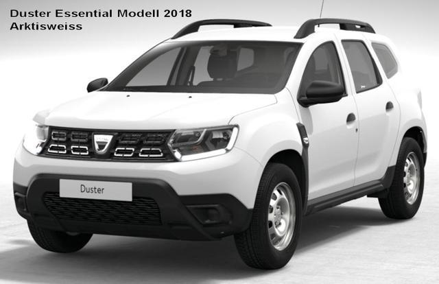 Bestellfahrzeug, konfigurierbar Dacia Duster - Essential TCe 130, Radio, Bluetooth, Dachreling, Bordkomputer, el. FH, ZV-fern
