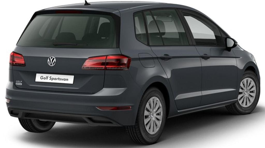 volkswagen golf sportsvan trendline neues modell 1 6 tdi. Black Bedroom Furniture Sets. Home Design Ideas