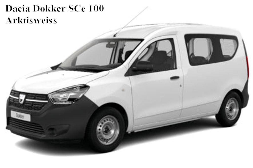 dacia dokker access sce 100 auto goldammer. Black Bedroom Furniture Sets. Home Design Ideas