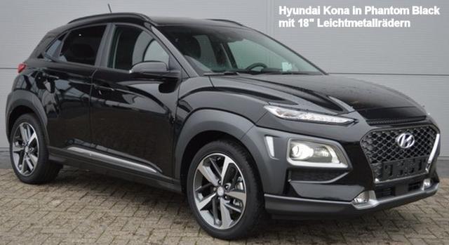 "Hyundai Kona - Sport 18"", Navi, Teilleder, Sitzheizung, Kamera, Lenkradheizung, Einparkhilfe..."