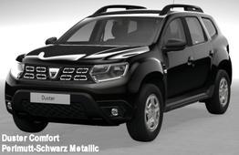 Duster - Comfort TCe 130 Allrad, Klimaautomatik, Einparkhilfe, Sitzheizung, Ersatzrad, Radio, Bluetooth, Dachreling, Bordkomputer, 4 x el. FH, ZV-fern