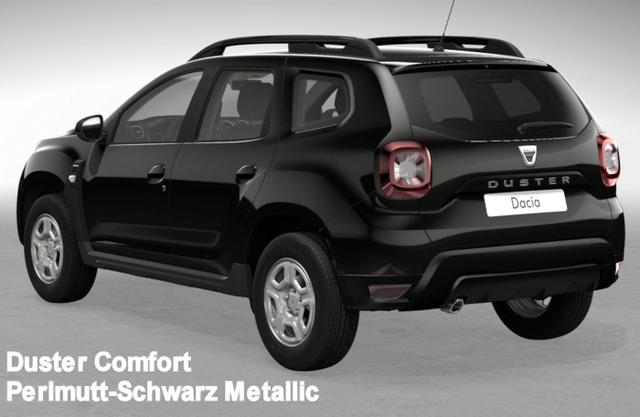Vorlauffahrzeug Dacia Duster - Comfort dCi 115 Allrad, Klima, 4x el. FH, Ersatzrad, Radio, Bluetooth, Tempomat, Nebel, ZV-fern...