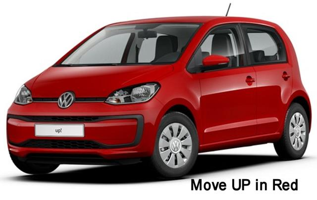 Volkswagen EU up! - Move 1.0 60 PS, 5-Türer, Klima, Radio, ZV-fern, el. Fenster..