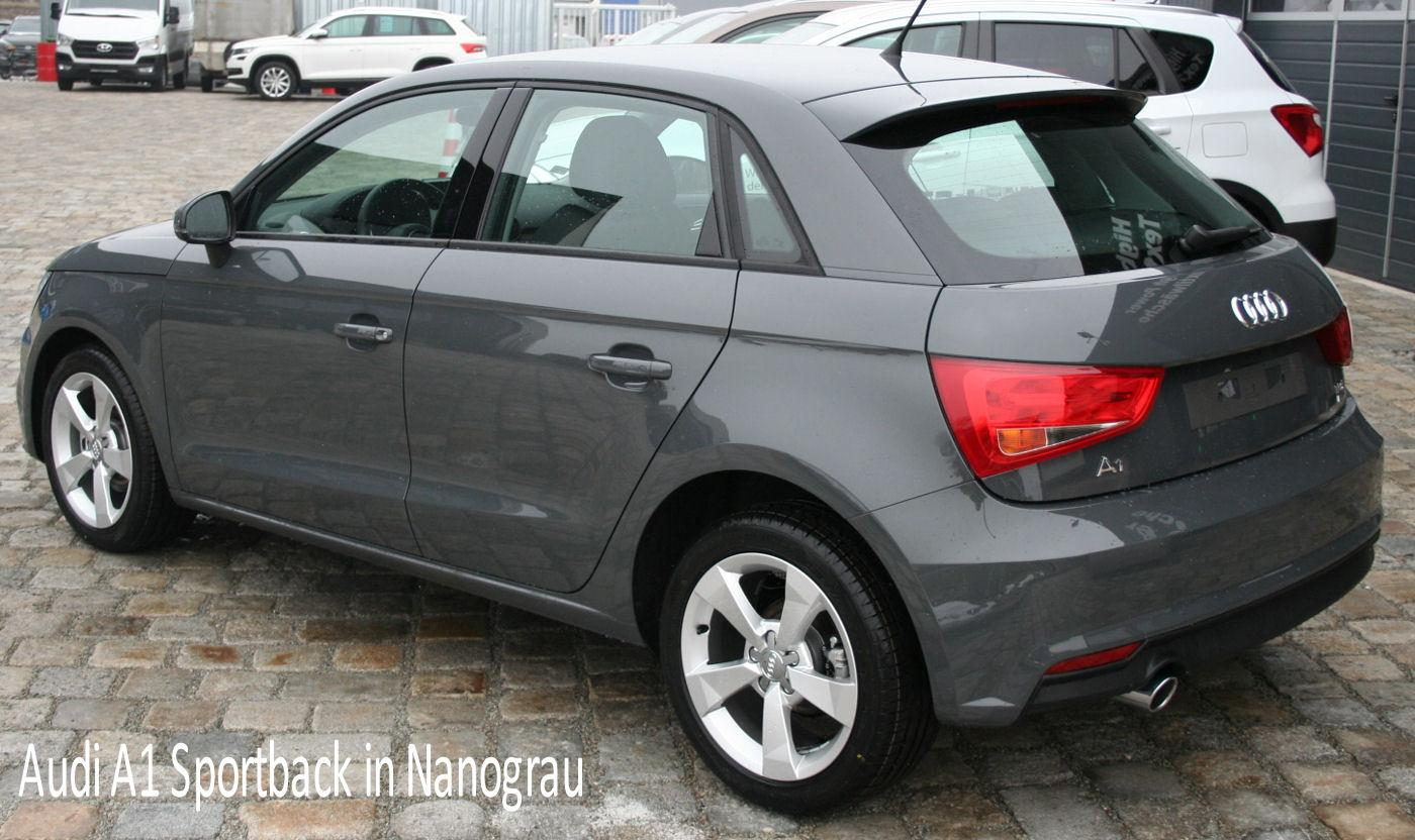 Audi A1 Sportback Auto Goldammer