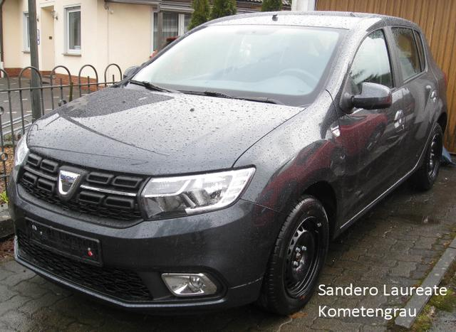 Vorlauffahrzeug Dacia Sandero - Comfort TCe 90 Metallic, Ersatzrad, Bluetooth, Klima, el. FH, ZV-fern....