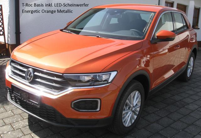 Volkswagen T-Roc - Advance 1.0 TSi 115 PS, Alus, Alarm, Lederlenkrad...