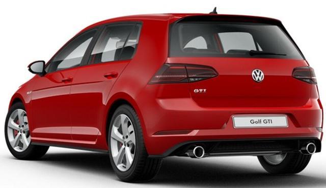 Volkswagen Golf - GTI Performance 245 PS, 7-Gang-DSG, 5-türig