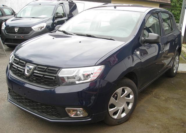 Vorlauffahrzeug Dacia Sandero - Comfort TCe 90, Einparkhilfe, Ersatzrad, Bluetooth, Klima, el. FH, ZV-fern....