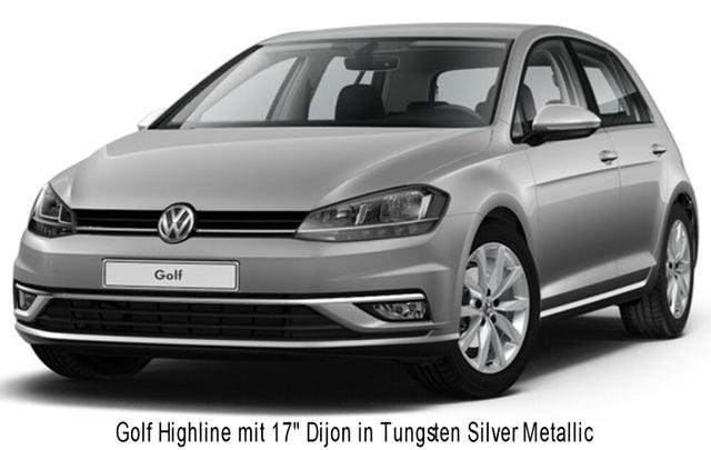 Volkswagen Golf - Highline 1.4 TSi 125 PS DSG, LED-Scheinwerfer, ergoActive, Navi, Keyless... - Vorlauffahrzeug kurzfristig verfügbar